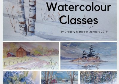 Watercolour (Day Time) Greg Maude