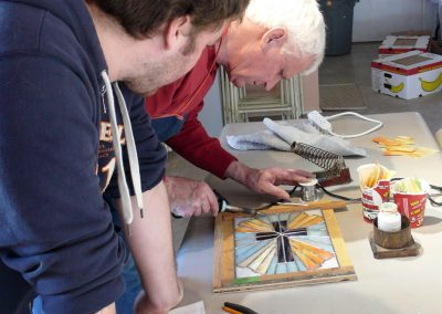 Stained Glass workshop with Hans Collmorgen