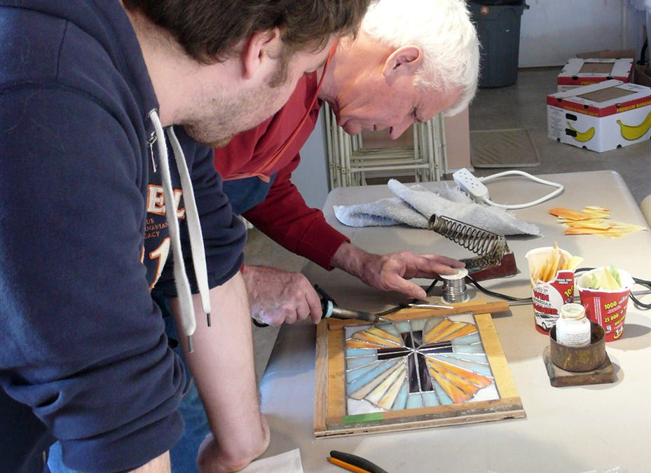 OCTOBER 3 | Stained Glass Workshop with Hans Collmorgen