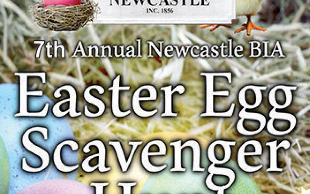 APRIL 20 | 7th annual Newcastle BIA Easter Egg Scavenger Hunt
