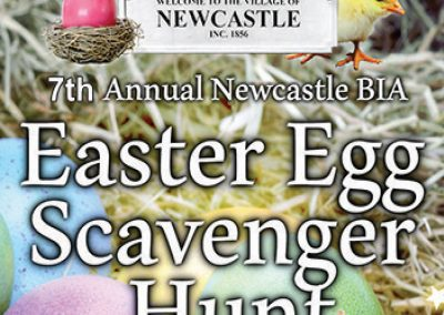 APRIL 20 | 7th annual Newcastle BIA Easter Egg Scavenger Hunt