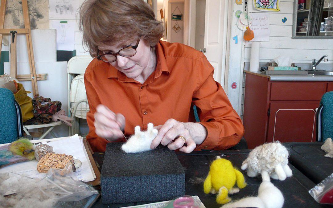 JUNE 9 | Needle Felting Workshop with Helen Firing