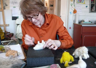 JULY 21 | Needle Felting Workshop with Helen Firing