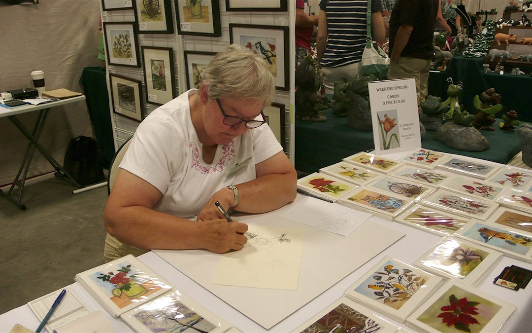 MAY 30 – JUNE 20 | Pen and Ink with Dianne Darch