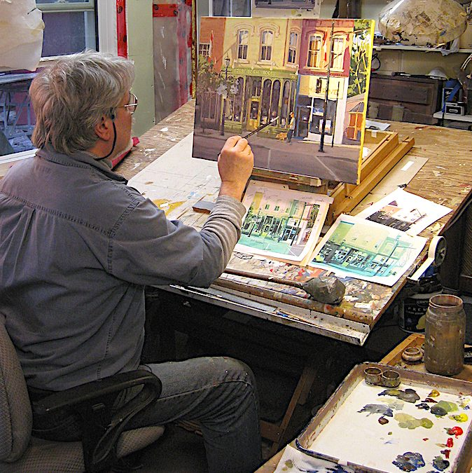 FEBRUARY 4 – MARCH 11 | Acrylic Painting Classes with Stephen Snider