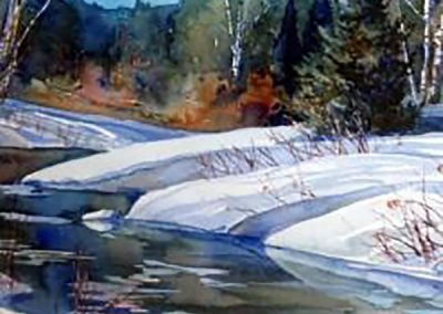 "OCTOBER 2 – NOVEMBER 6 | ""Deconstructed Landscape in Watercolour"" with Greg Maude"