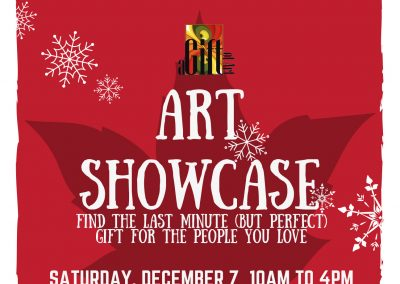 DECEMBER 7 | Christmas Art Showcase 2019