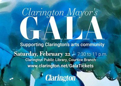 FEBRUARY 22   Clarington Mayor's Gala