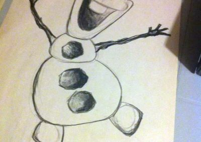 FEBRUARY 29   How to Draw Olaf Workshop for Kids with Emily Buckley