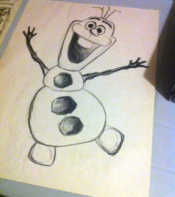 FEBRUARY 29 | How to Draw Olaf Workshop for Kids with Emily Buckley