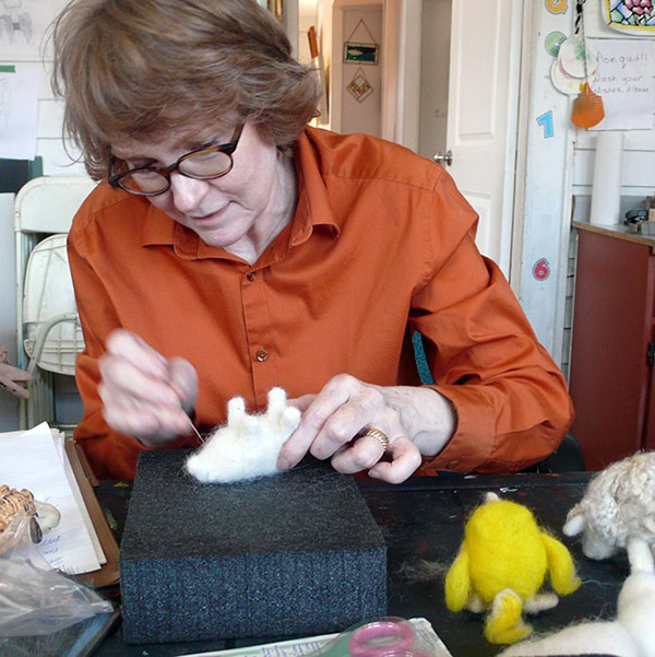 MARCH 1 | Learn how to Needle Felt Workshop with Helen Firing (Ages 14+)