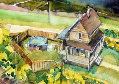 OCTOBER 9 – NOVEMBER 13 | Adult Watercolour with Todd Tremeer