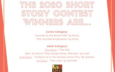 The Short Story Contest results are in!