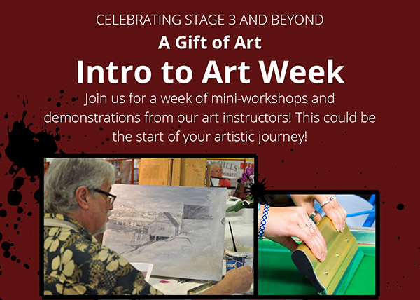 Intro to Art Week