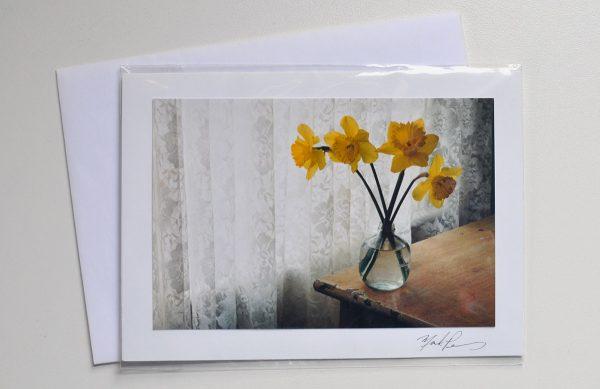 Daffodils – Photo Card