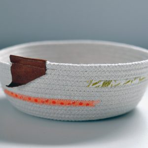 Small Cord Bowl (with orange and yellow)