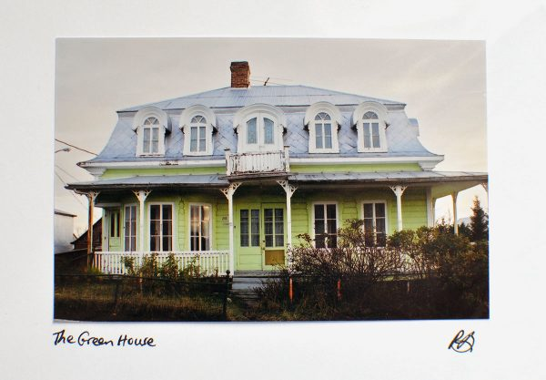 The Green House – Photo Card
