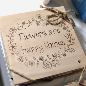 Flowers are Happy Things – Flower Press