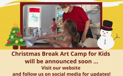 Christmas Break Art Camp for Kids will be announced soon