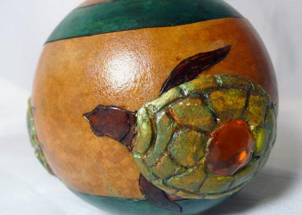 Turtle Gourd Pot