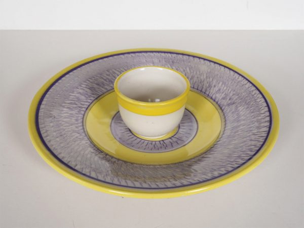 Blue and Yellow Serving Set