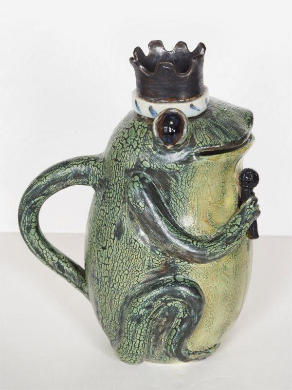Frog Elvis Teapot