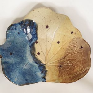 Blue Leaf Tray