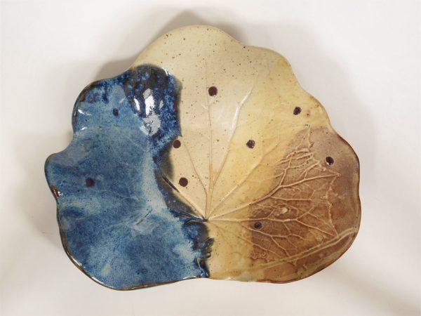 Blue Leaf Tray