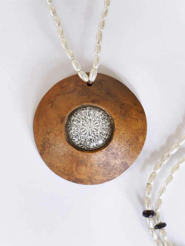 Beaded Gourd Necklace