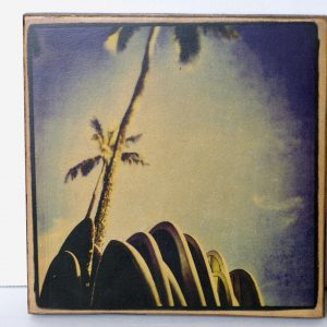 Wood Transfer Large – Palm Trees