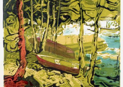 JANUARY 30 & FEBRUARY 6 | Linocut Printmaking in Color with Todd Tremeer (2 Part)
