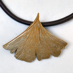 Ginkgo Leaf on Cord