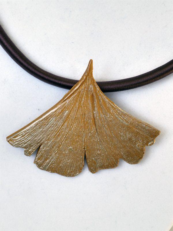 Ginkgo Leaf on Cord