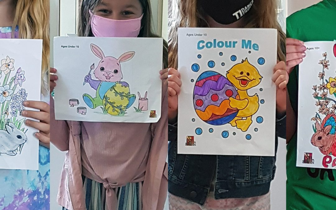 Easter Colouring Contest Winners