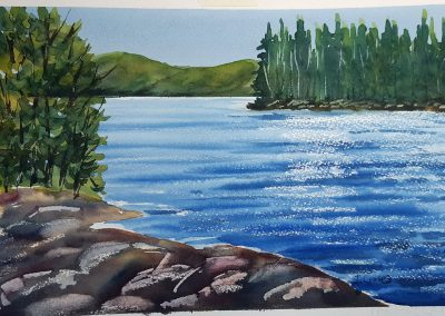 JULY 7 – 28 | Beginner Watercolour Classes with Julieta Cortes on Zoom