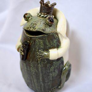 Frog Elvis Pot