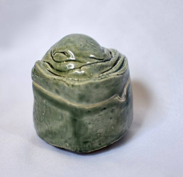 Hand-Build Jars, sage green