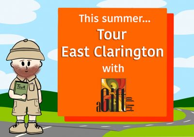Tour East Clarington with A Gift of Art this summer